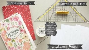 DIY: Von der Grußkarte zum Notizbuch