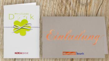 Dem Kunden Wertschätzung zeigen – Grußkarten-Anlässe für Banken und Sparkassen