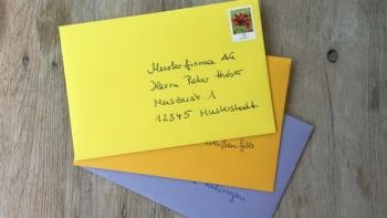 Grusskarten und Briefe richtig schreiben – die 5 häufigsten formalen Fehler