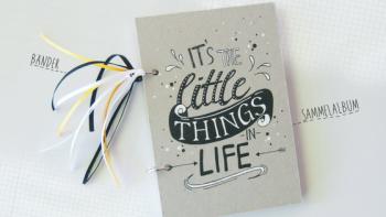 DIY: Minialbum für Glückwunschkarten