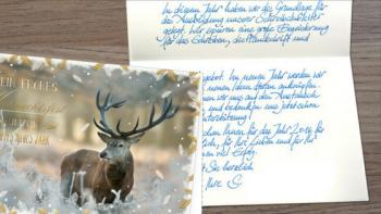 Weihnachtskarten: Persönlich und individuell – So machen Sie Eindruck bei Geschäftspartnern und Kunden