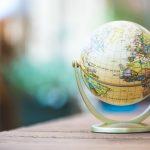 Bild von einem Globus